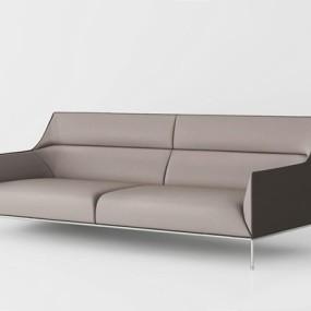 现代双人沙发3D模型【ID:928179758】