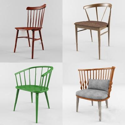 休闲椅3D模型【ID:220025414】