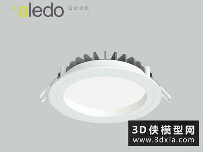 射燈國外3D模型【ID:929437143】