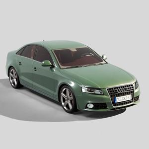 �W迪A4汽�3D模型【ID:532401395】