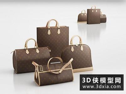 LV包國外3D模型【ID:929824656】