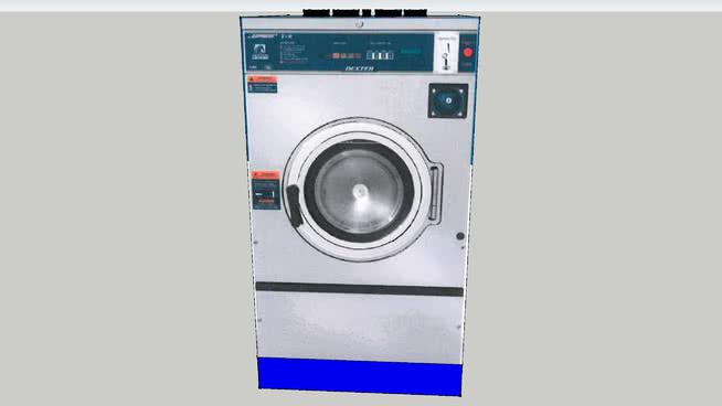德克斯特C系列洗衣机T-950快车60LBS。SU模型【ID:940052534】