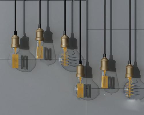 吊灯3D模型【ID:220616860】