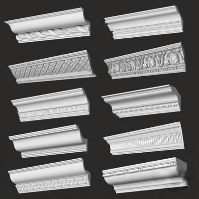 现代角线3D模型【ID:320602807】