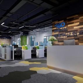 现代办公室3D模型【ID:124896275】