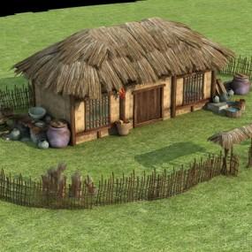 房子3D模型【ID:720010659】
