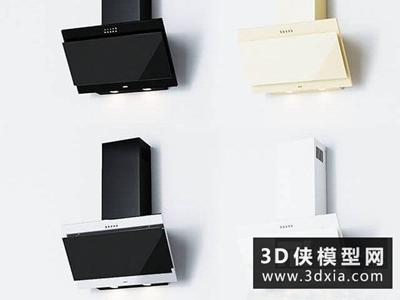 吸油煙機國外3D模型【ID:129359388】
