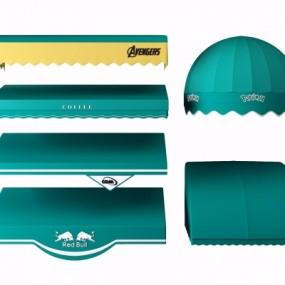 现代雨棚遮阳棚3D模型【ID:228424734】
