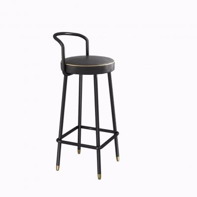 现代吧台椅3D模型【ID:328442116】