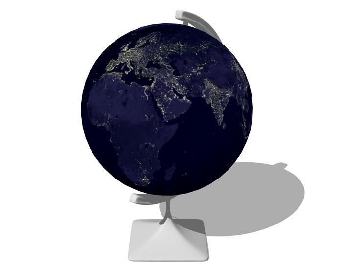 地球儀SU模型【ID:936594068】