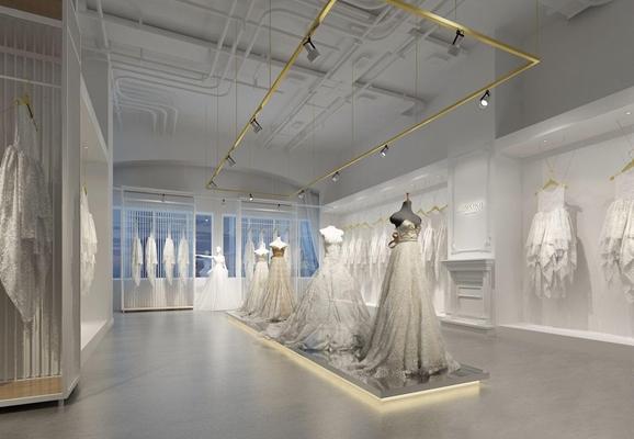 簡歐婚紗攝影3D模型【ID:528274487】