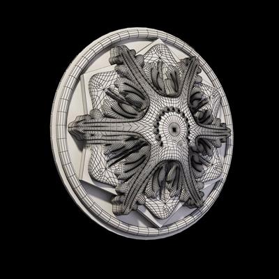 欧式石膏件构件3D模型【ID:96894425】