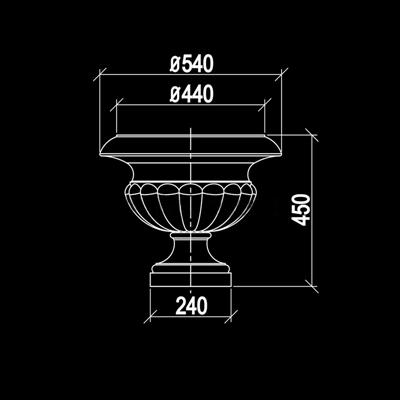 欧式石膏件构件3D模型【ID:96894921】