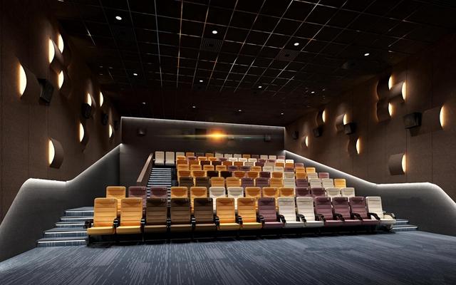 现代电影院放映厅3D模型【ID:96964830】