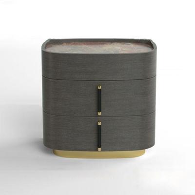 现代实木床头柜3D模型【ID:96974060】