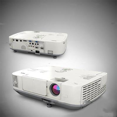 现代白色投影仪3D模型【ID:96982655】