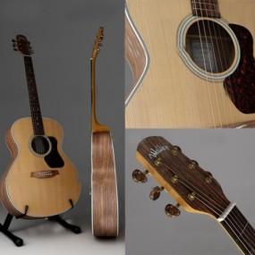 现代吉他乐器3D模型【ID:97007704】