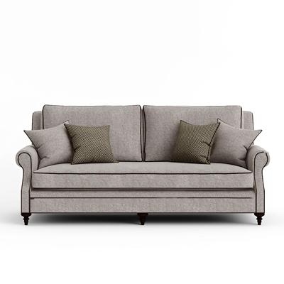 现代布艺双人沙发3D模型【ID:97022473】