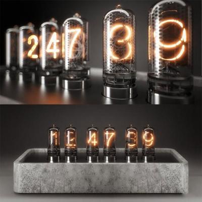 工业风数字金属装饰灯3D模型【ID:97027481】