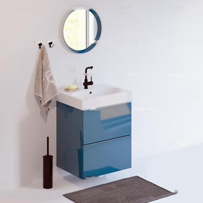 现代台盆卫浴柜架3D模型【ID:97069245】