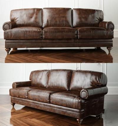 三人沙发3D模型【ID:97086571】
