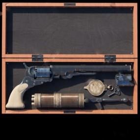 手枪3D模型【ID:97087832】