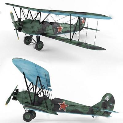 飞机3D模型【ID:97088637】