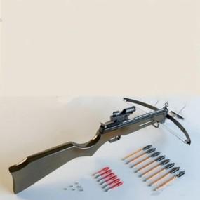 弓弩3D模型【ID:97088733】