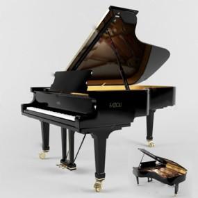 钢琴3D模型【ID:97089103】