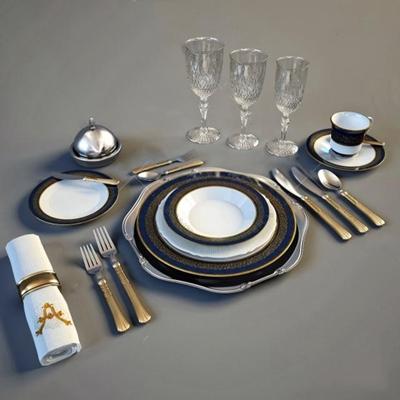 餐具3D模型【ID:97092030】
