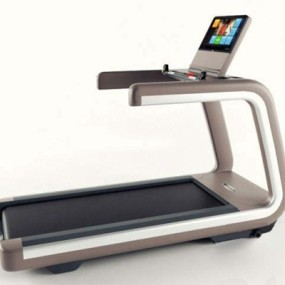 现代跑步机3D模型【ID:97151547】