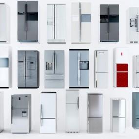冰箱组合3D模型【ID:97151642】