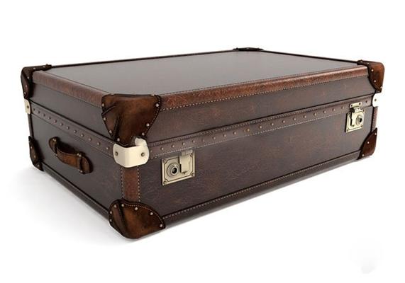 欧式复古皮箱行李箱3D模型【ID:97151940】
