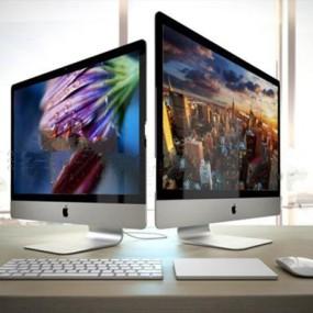 现代苹果台式电脑下载3D模型【ID:97152148】
