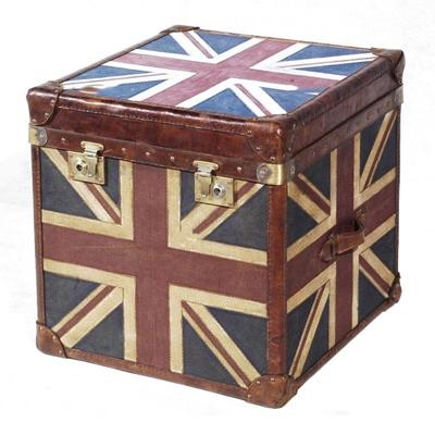 欧式复古英国米子旗箱子3d模型【ID:97171013】