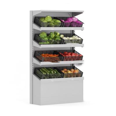 现代蔬菜货架3D模型【ID:97205522】