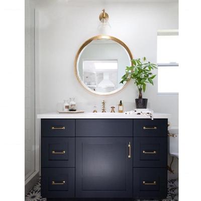现代卫浴柜架镜子组合3D模型【ID:97209944】