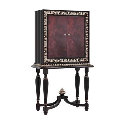 欧式实木装饰柜3D模型【ID:97233029】