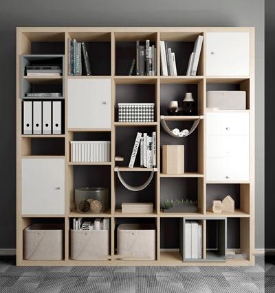 北欧装饰柜书籍摆件组合3D模型【ID:97246027】
