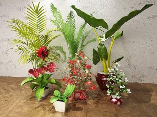 盆栽3D模型下载【ID:319603842】