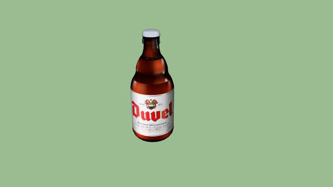 啤酒瓶SU模型【ID:538496402】