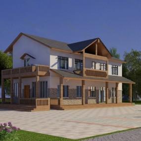 现代建筑3D模型【ID:326234851】