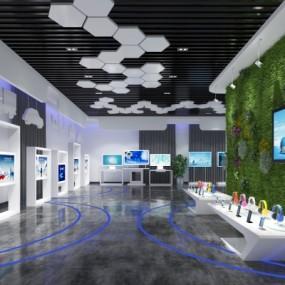 现代科技展厅3D模型【ID:327792081】