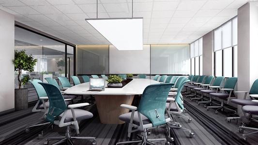 现代会议室3D模型【ID:934507178】