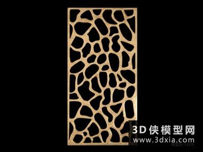現代隔斷國外3D模型【ID:929743558】