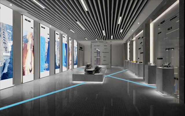 现代展厅3D模型【ID:124884248】
