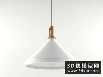 現代北歐吊燈國外3D模型【ID:829419786】