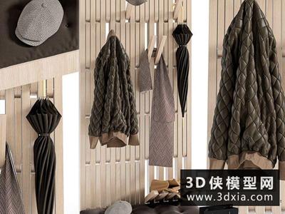 衣服模型組合國外3D模型【ID:929387667】