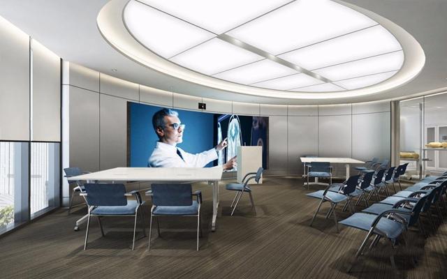 現代醫療站3D模型【ID:928192607】
