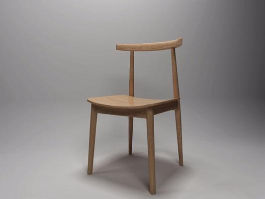現代餐椅GJ3D模型【ID:327889032】